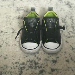 Black Toddler Converse